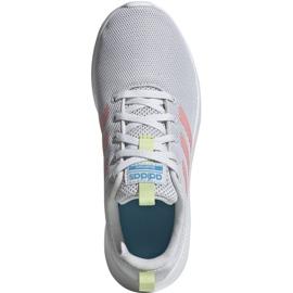 Buty adidas Lite Racer Cln K Jr EG3049 szare 4