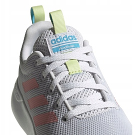 Buty adidas Lite Racer Cln K Jr EG3049 szare 5