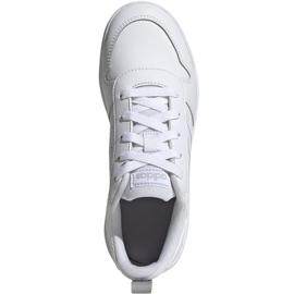 Buty adidas Tensaur K Jr EG2554 białe 1