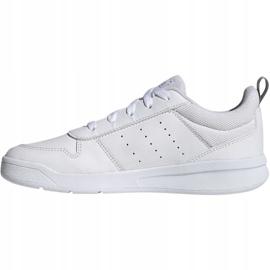 Buty adidas Tensaur K Jr EG2554 białe 2