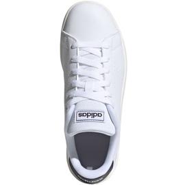Buty adidas Advantage K Jr FW2588 białe 1