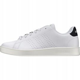 Buty adidas Advantage K Jr FW2588 białe 2