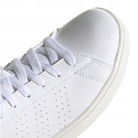Buty adidas Advantage K Jr FW2588 białe 3