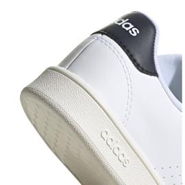 Buty adidas Advantage K Jr FW2588 białe 5