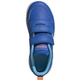Buty adidas Tensaur C Jr EG4090 niebieskie 1