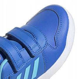 Buty adidas Tensaur C Jr EG4090 niebieskie 3