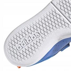 Buty adidas Tensaur C Jr EG4090 niebieskie 4