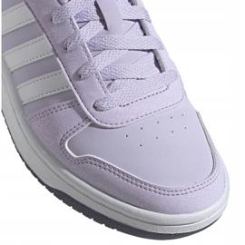 Buty adidas Hoops 2.0 K Jr EG9075 fioletowe 2