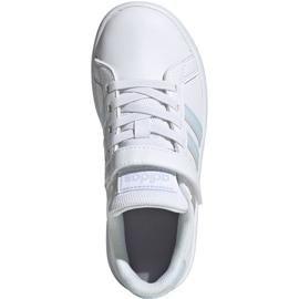 Buty adidas Grand Court C Jr EG6738 białe 1