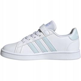 Buty adidas Grand Court C Jr EG6738 białe 2