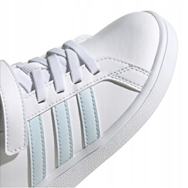 Buty adidas Grand Court C Jr EG6738 białe 3
