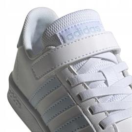 Buty adidas Grand Court C Jr EG6738 białe 4