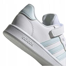 Buty adidas Grand Court C Jr EG6738 białe 5