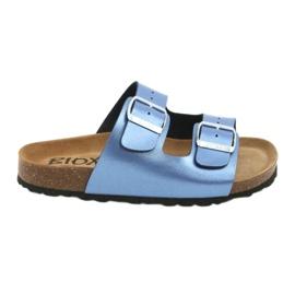 Klapki medyczne BIOX Alex blue niebieskie 1