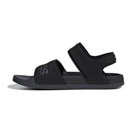Sandały adidas Adiilette Sandal Jr F35417 czarne 1