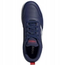 Buty adidas Tensaur Jr EF1087 granatowe 1