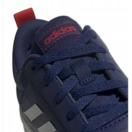 Buty adidas Tensaur Jr EF1087 granatowe 4