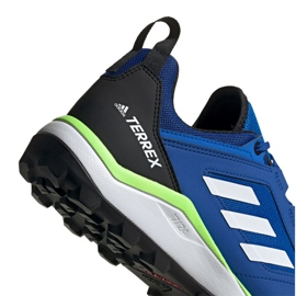 Buty adidas Terrex Agravic Trail M EF6858 niebieskie 3