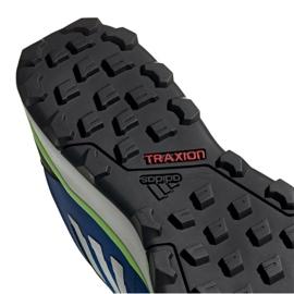 Buty adidas Terrex Agravic Trail M EF6858 niebieskie 4