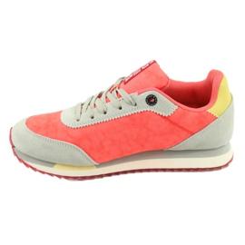 Buty sportowe orange BIG STAR FF 274873 pomarańczowe szare żółte 2