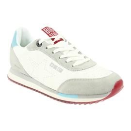 Buty sportowe białe gwiazda BIG STAR FF 274874 niebieskie szare 1
