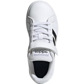 Buty adidas Grand Court C Jr EF0109 białe 1