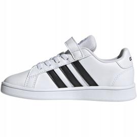 Buty adidas Grand Court C Jr EF0109 białe 2