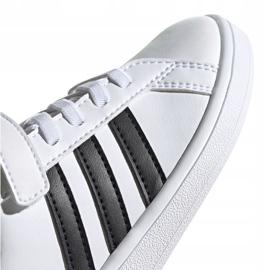 Buty adidas Grand Court C Jr EF0109 białe 3