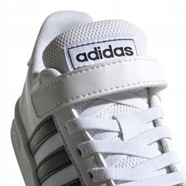 Buty adidas Grand Court C Jr EF0109 białe 4