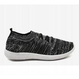 Szare męskie obuwie sportowe LW-1801 2