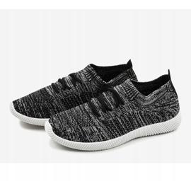 Szare męskie obuwie sportowe LW-1801 3