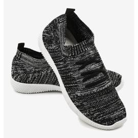 Szare męskie obuwie sportowe LW-1801 4