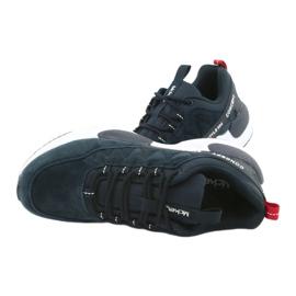 Buty sportowe zamszowe McKey MSP1464 granatowe 6