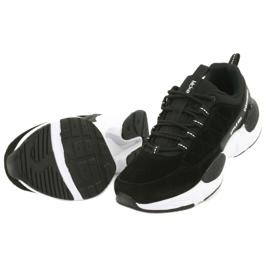 Buty sportowe zamszowe McKey MSP1464 czarne 5