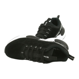 Buty sportowe zamszowe McKey MSP1464 czarne 6