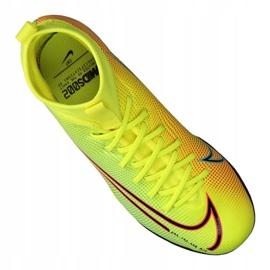Buty Nike Superfly 7 Academy Mds Tf Jr BQ5407-703 żółte wielokolorowe 2