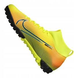Buty Nike Superfly 7 Academy Mds Tf Jr BQ5407-703 żółte wielokolorowe 4