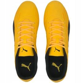 Buty piłkarskie Puma One 20.4 Fg Ag 105831 01 żółte 1