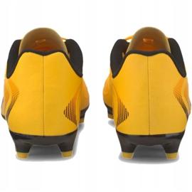 Buty piłkarskie Puma One 20.4 Fg Ag 105831 01 żółte 4