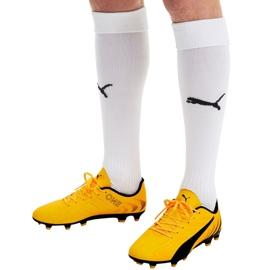 Buty piłkarskie Puma One 20.4 Fg Ag 105831 01 żółte 6