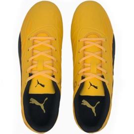 Buty piłkarskie Puma One 20.4 Fg Ag Jr 105840 01 żółte 1