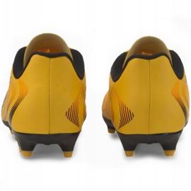 Buty piłkarskie Puma One 20.4 Fg Ag Jr 105840 01 żółte 4