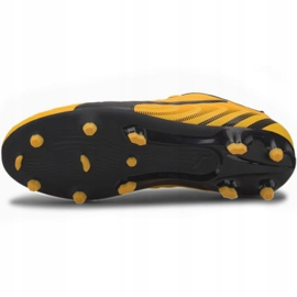 Buty piłkarskie Puma One 20.4 Fg Ag Jr 105840 01 żółte 5