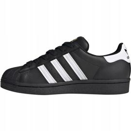 Buty adidas Superstar J Jr EF5398 czarne 2