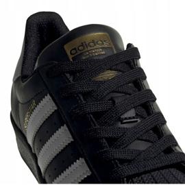 Buty adidas Superstar J Jr EF5398 czarne 4