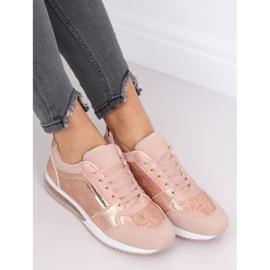 Buty sportowe damskie różowe BL206 Pink 4