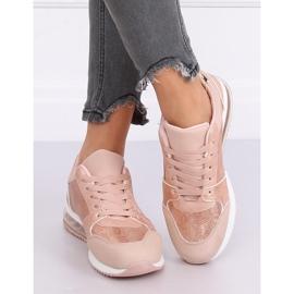 Buty sportowe damskie różowe BL206 Pink 1