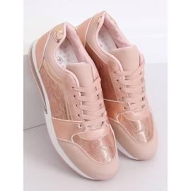 Buty sportowe damskie różowe BL206 Pink 2