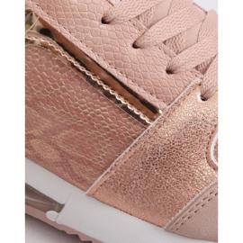 Buty sportowe damskie różowe BL206 Pink 3