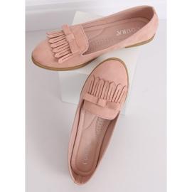 Lordsy damskie różowe 2358 Pink 4